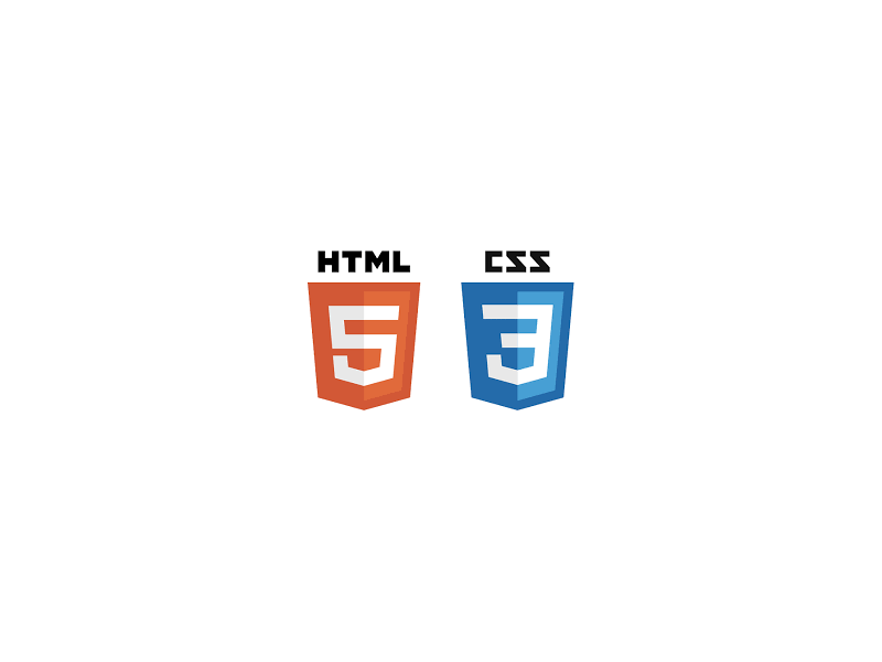 Logo formation html5 css3